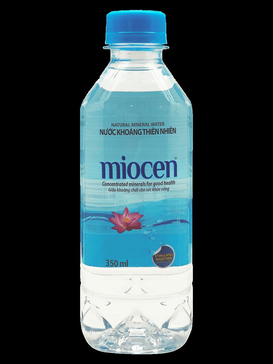 Thùng 24 chai nước khoáng thiên nhiên Miocen 500ml